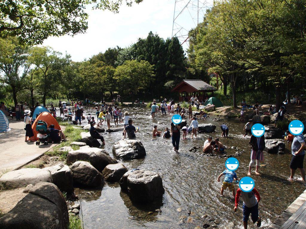 木曽川水園川遊び